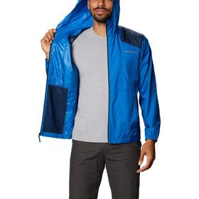 Columbia Flashback Windbreaker Jacket Men bright indigo/collegiate navy